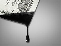 oil & $100 bill